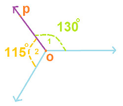 Can two obtuse angles be adjacent angles. Explain with the ...