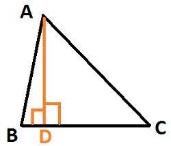 how to find the altitude of a triangle