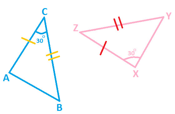 maths triangle and congruence rule Often referred to as the sss rule, the side-side-side rule can be used to prove  two triangles are congruent if the three sides of the first triangle are equal to the.