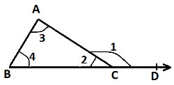 Prove That The Sum Of The Interior Opp Angles Is Equal To Exterior Angle 9639185