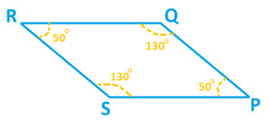 how to find diagonal of a parallelogram without angles